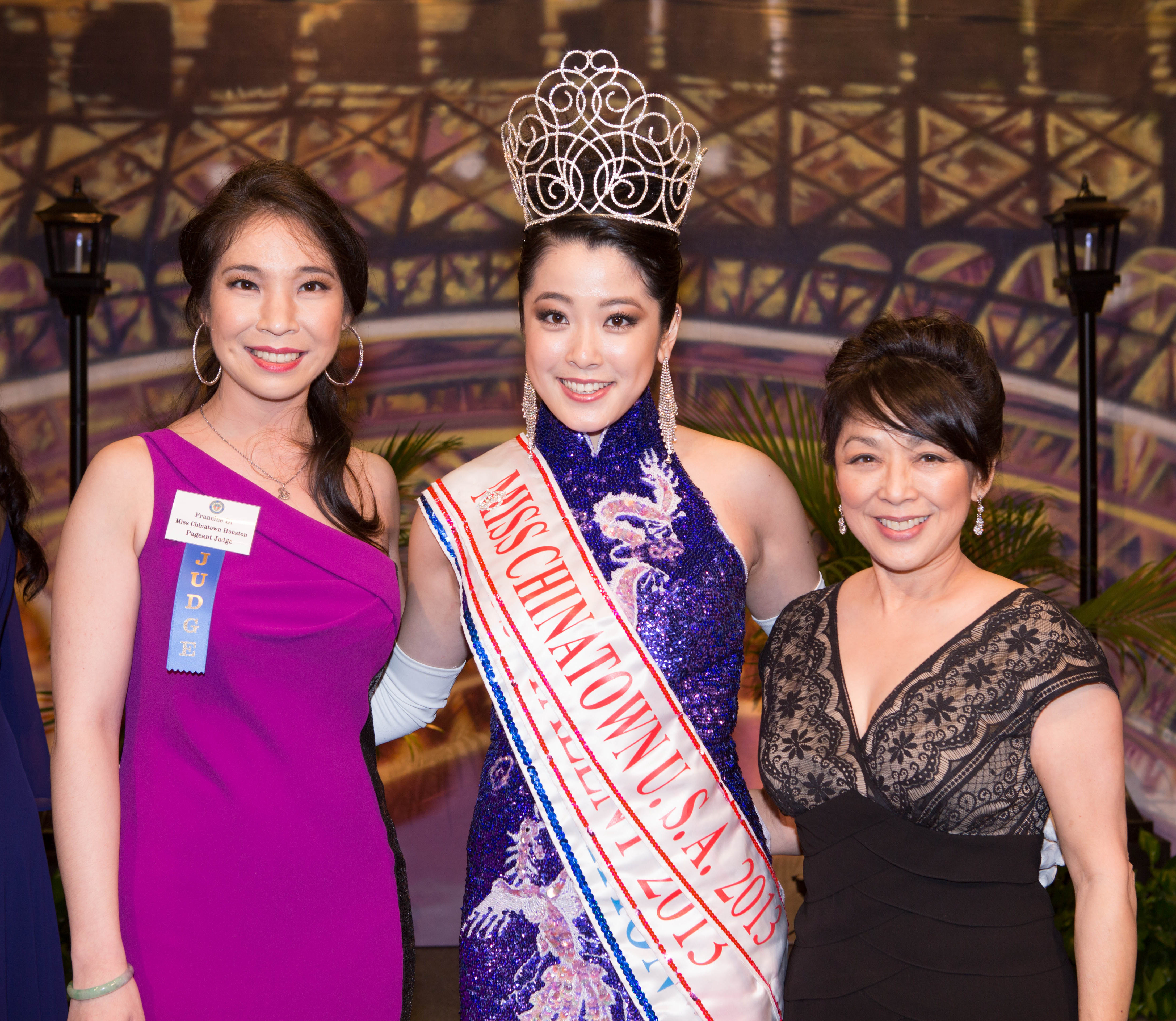Francine Di, Miss Chinatown USA 2013, Soo Leong Liu.  Photo by Alvin Gee Photography